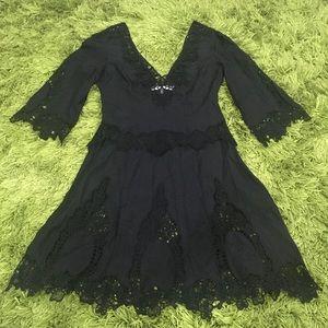 Georgia Osborne Black Mini Dress Size 6